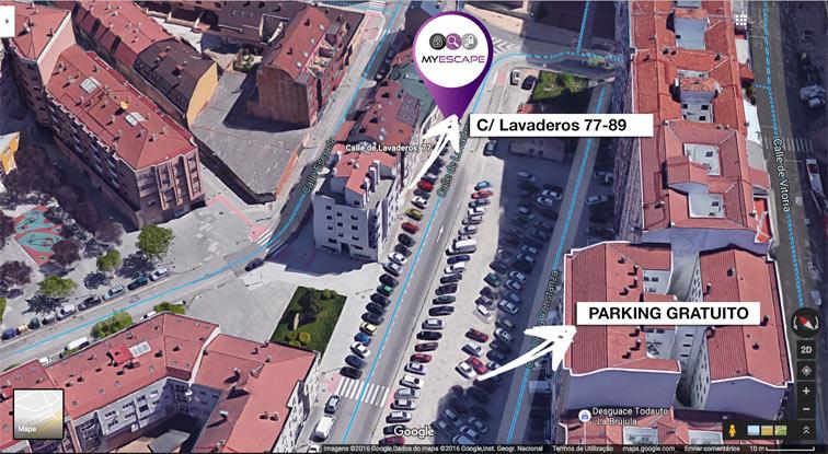 mapa ubicación myescape